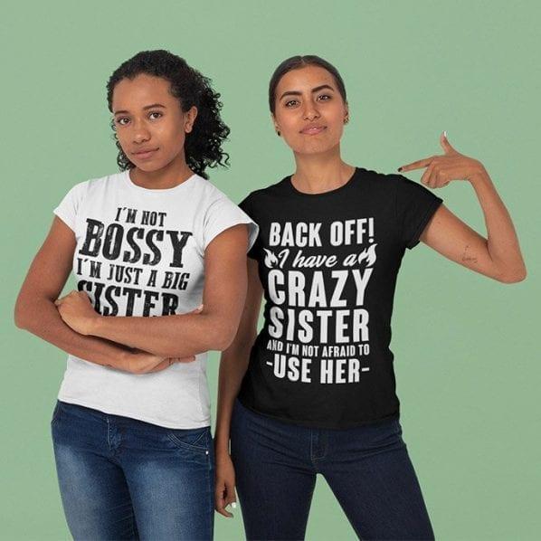 Funny Sister Shirts